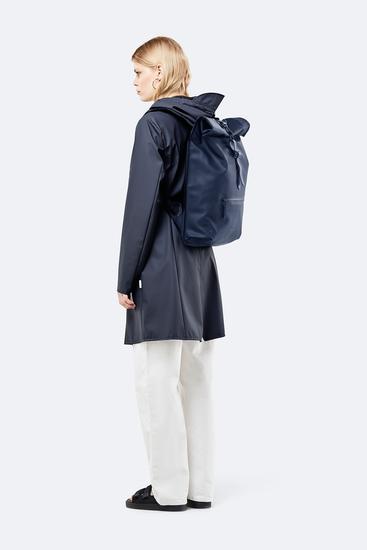 Rains Original Roll Top Backpack Blue 1