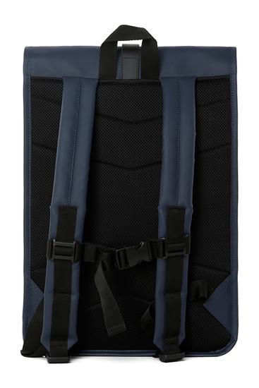 Rains Original Roll Top Backpack Blue 4