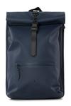 Rains Original Roll Top Backpack blue voorkant