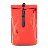 Rains Original Roll Top Backpack Red Voorkant