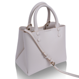 INYATI Hailey Top Handle Bag cream zijkant