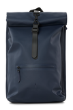 Rains Original Roll Top Backpack blue voorkant