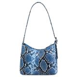 Daniel Silfen Handbag Ulla electric blue achterkant