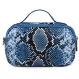 Daniel Silfen Handbag Katy electric blue achterkant