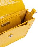 Hvisk Cayman Pocket yellow binnenkant