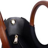 Viviana Top Handle Bag Black details