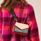 Becksondergaard Mix Kelliy Bag Red model vrouw schoudertas