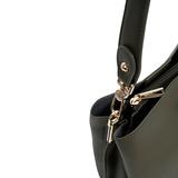 Inyati Cleo Handbag Dark Olive details