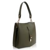 Inyati Cleo Handbag Dark Olive zijkant