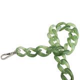 Hvisk Chain Handle Tortoise Green details