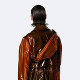 Rains Bum Bag Mini Shiny Amber model man