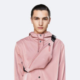 Rains Bum Bag Mini Blush model man