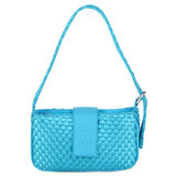 Daniel Silfen Handbag Yasmin Braided Blueberry