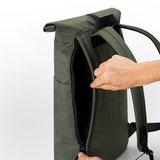 Ucon Acrobatics Stealth Hajo Mini Backpack Olive achterkant rits