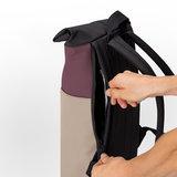 Ucon Acrobatics Lotus Hajo Mini Backpack Eggplant/Nude achterkant rits