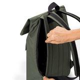 Ucon Acrobatics Stealth Jasper Backpack Olive voorkant achterkant rits