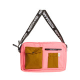 Mads Norgaard Bel Couture Cappa Bag Strawberry Pink/Breen