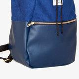 Kaliber Fashion Backpack Love & Soul Night Blue Details