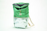 Kaliber Fashion Backpack Mintsilver Voorkant Open