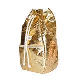Kaliber Fashion Backpack Pineapple Gold Zijkant Dicht