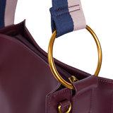 INYATI Alizée Handbag Burgundy Details