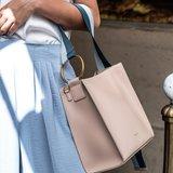 INYATI Alizée Handbag Nude Model