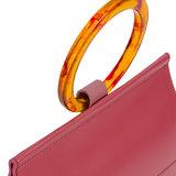 INYATI Coco Top Handle Bag Rosewood Handvat