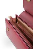 INYATI Coco Top Handle Bag Rosewood Binnenkant