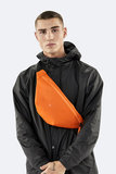 Rains Original Bum Bag Fire Orange Model Man