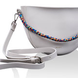 INYATI Juliette Crossbodybag Glossy Off White Hengsel
