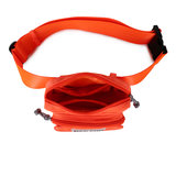 Daniel Silfen Waistbag Sally Orange Bovenkant