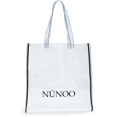 Nunoo large Transparent tote colorless