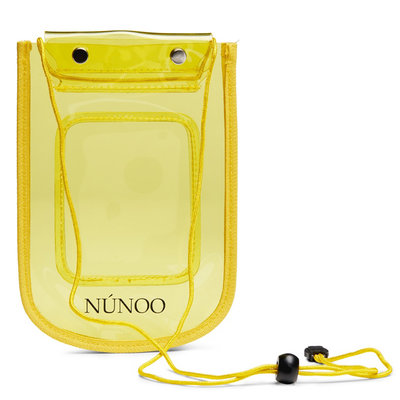 Núnoo Beach Wallet Transparent yellow