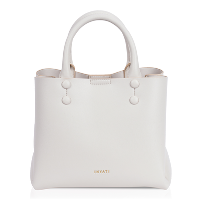 INYATI Hailey Top Handle Bag cream
