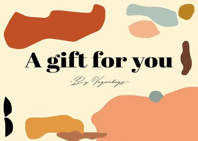 Veganbags Giftcard t.w.v. €80