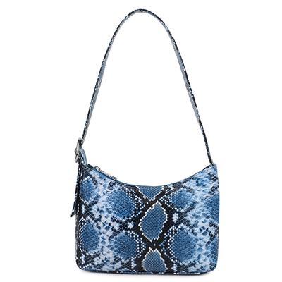 Daniel Silfen Handbag Ulla electric blue