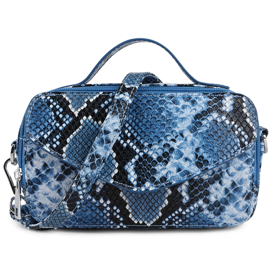 Daniel Silfen Handbag Katy electric blue