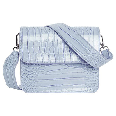 Hvisk Cayman Shiny Strap Bag Baby Blue