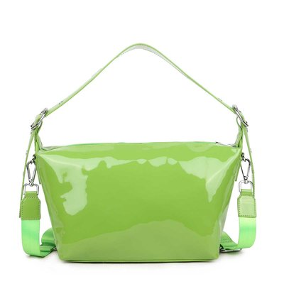 Daniel Silfen Crossbody Bibbi green