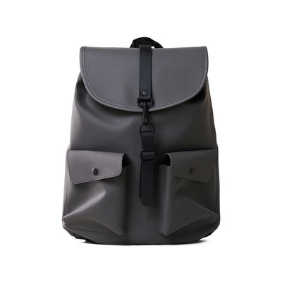 Rains Original Camp Backpack Charcoal