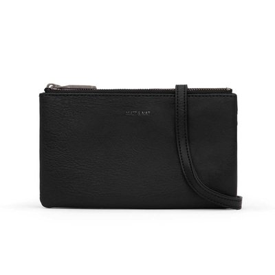 Matt and Nat Purity Triplet Crossbody Bag Black