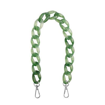 Hvisk Chain Handle Tortoise Green