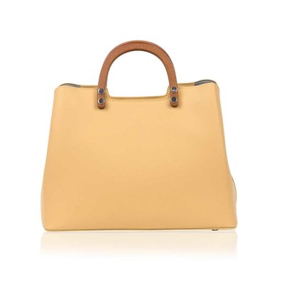 Inyati Inati Top Handle Bag Vanilla Yellow