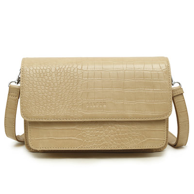 Daniel Silfen Handbag Andrea Light Wood