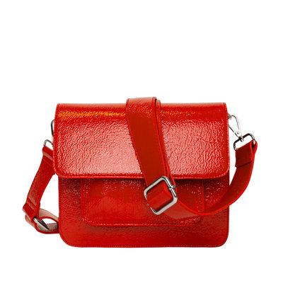 Hvisk Cayman Pocket Glossy Posh Red