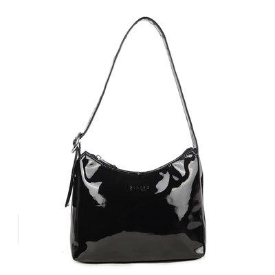Daniel Silfen Handbag Ulla Patent Black