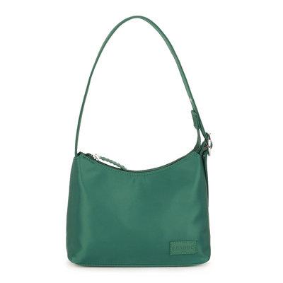 Daniel Silfen Handbag Ulla Nylon Dark Green