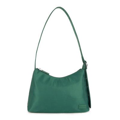Daniel Silfen Shoulder Bag Ulrikke Nylon Dark Green