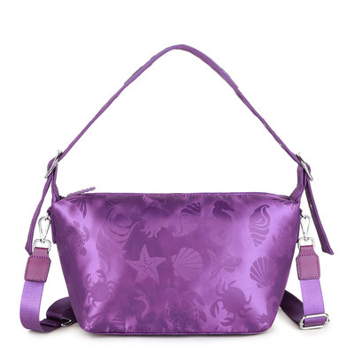 Daniel Silfen Crossbody Bibbi Purple Ocean