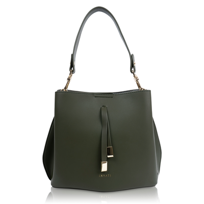 Inyati Cleo Handbag Dark Olive